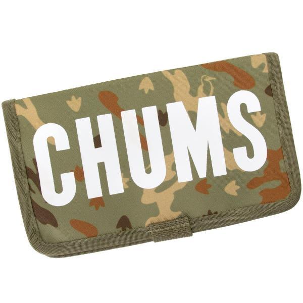 チャムス CHUMS スマホケース エコチャムスブックレットモバイルケース|2m50cm|14