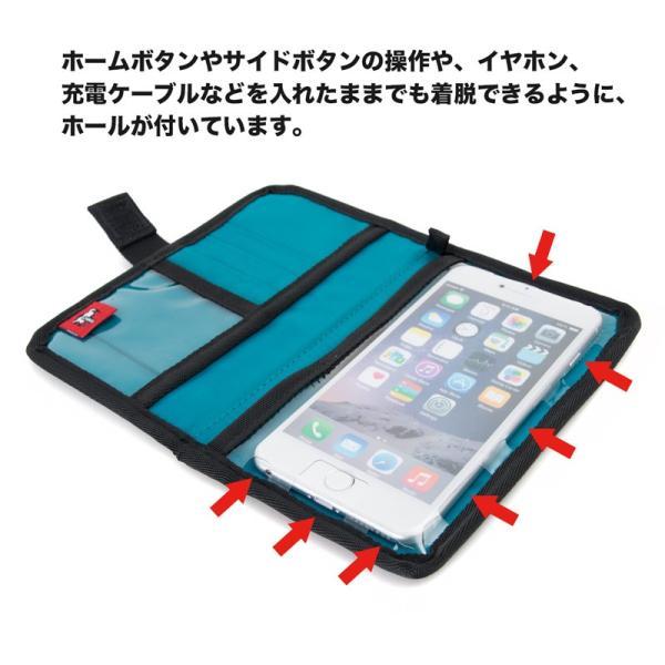 チャムス CHUMS スマホケース エコチャムスブックレットモバイルケース|2m50cm|04