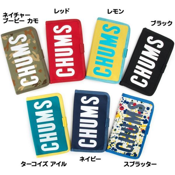 チャムス CHUMS スマホケース エコチャムスブックレットモバイルケース|2m50cm|06