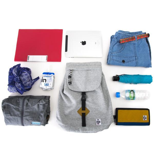 チャムス CHUMS デイリーパック スウェット Daily Pack Sweat|2m50cm|04