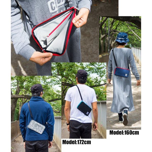 チャムス CHUMS Rectangle Shoulder Sweat|2m50cm|07