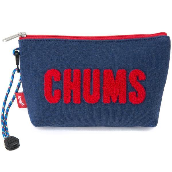 チャムス CHUMS ポーチ Little Pouch Sweat リトルポーチ スウェット|2m50cm|11