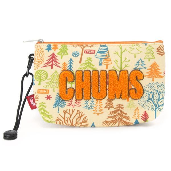 チャムス CHUMS ポーチ Little Pouch Sweat リトルポーチ スウェット|2m50cm|12