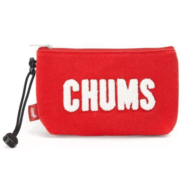 チャムス CHUMS ポーチ Little Pouch Sweat リトルポーチ スウェット|2m50cm|13