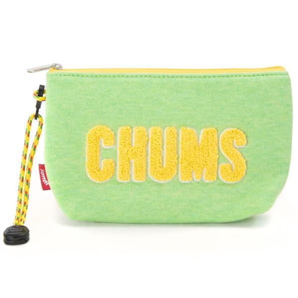チャムス CHUMS ポーチ Little Pouch Sweat リトルポーチ スウェット|2m50cm|14