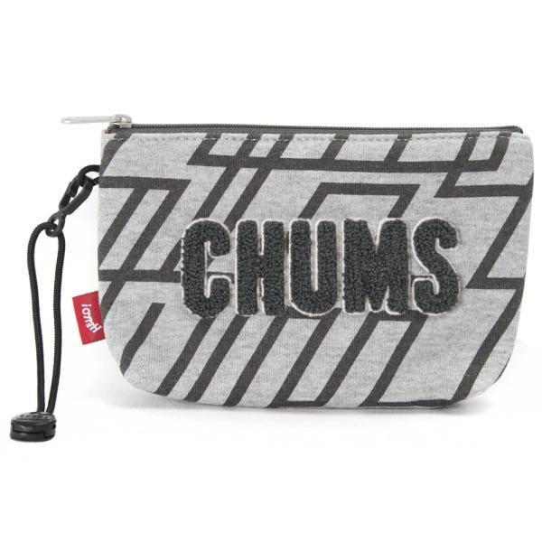 チャムス CHUMS ポーチ Little Pouch Sweat リトルポーチ スウェット|2m50cm|15
