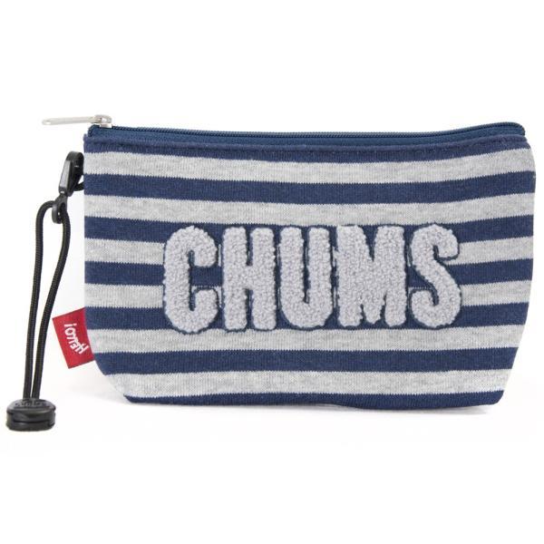 チャムス CHUMS ポーチ Little Pouch Sweat リトルポーチ スウェット|2m50cm|16