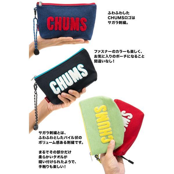 チャムス CHUMS ポーチ Little Pouch Sweat リトルポーチ スウェット|2m50cm|03