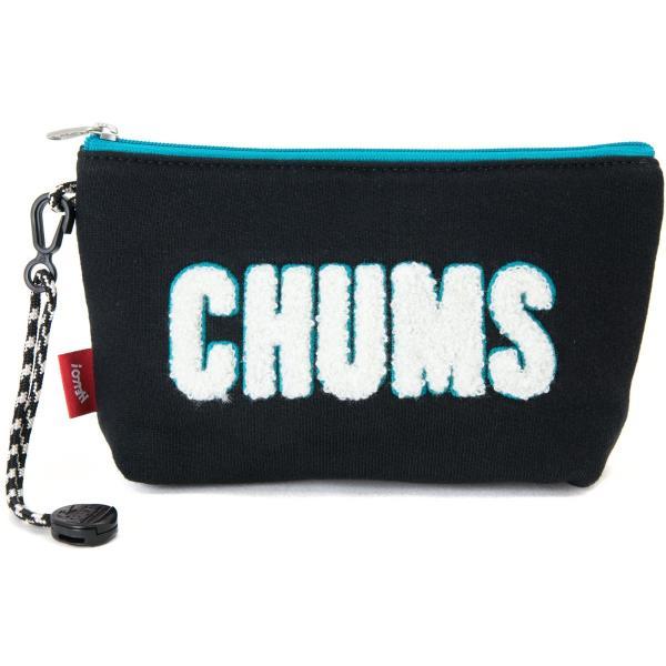 チャムス CHUMS ポーチ Little Pouch Sweat リトルポーチ スウェット|2m50cm|09