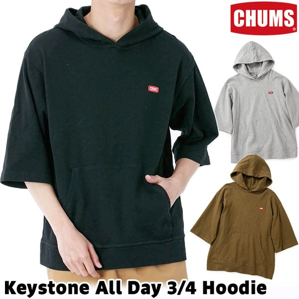 CHUMS チャムス パーカー Keystone Sweat Zip Parka|2m50cm