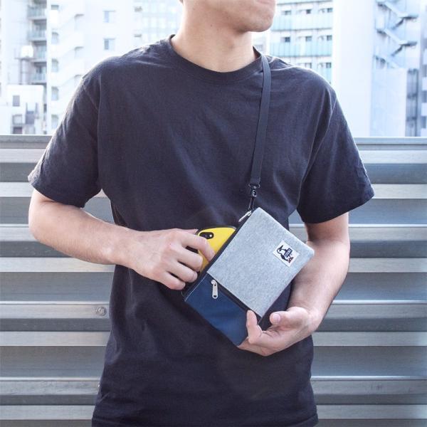 チャムス CHUMS スマートフォン ショルダー Smart Phone Shoulder|2m50cm|13