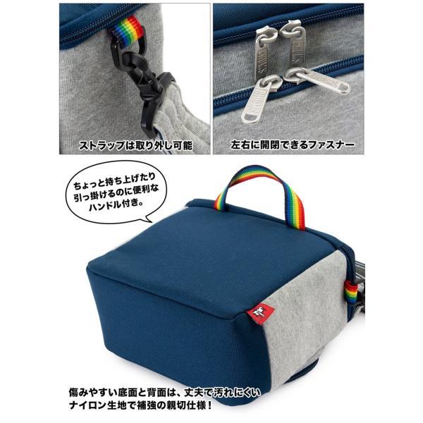 チャムス CHUMS ボックスカメラバッグ Box Camera Bag|2m50cm|18