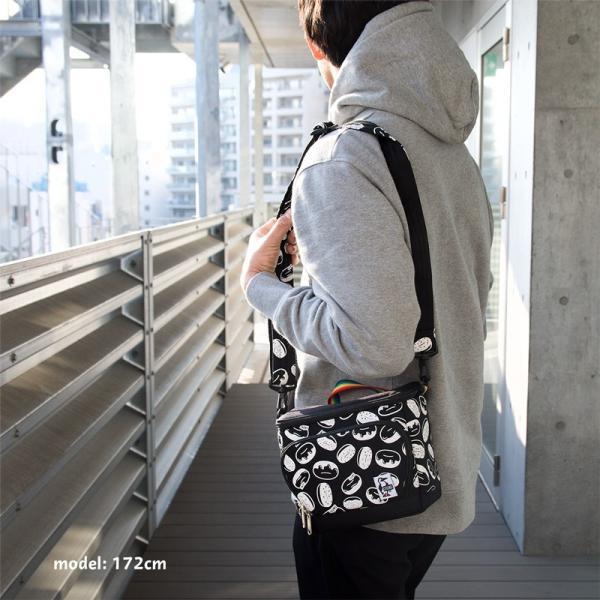 チャムス CHUMS ボックスカメラバッグ Box Camera Bag|2m50cm|05