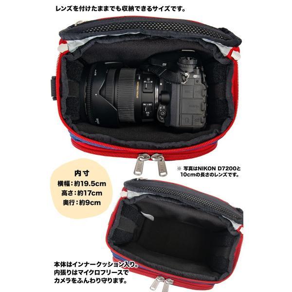 チャムス CHUMS ボックスカメラバッグ Box Camera Bag|2m50cm|07