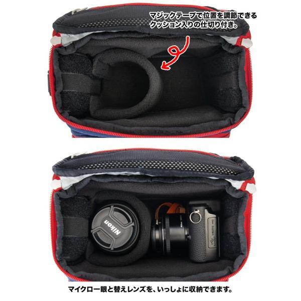 チャムス CHUMS ボックスカメラバッグ Box Camera Bag|2m50cm|08
