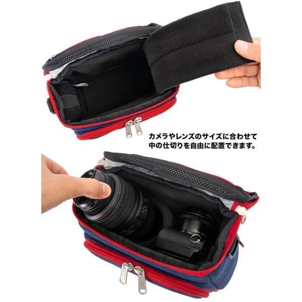 チャムス CHUMS ボックスカメラバッグ Box Camera Bag|2m50cm|09