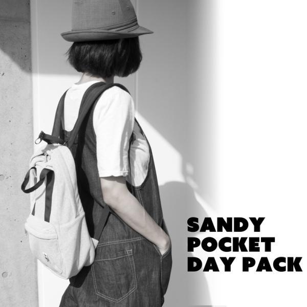 チャムス CHUMS デイパック Sandy Pocket Day Pack サンディーポケットデイパック|2m50cm|09