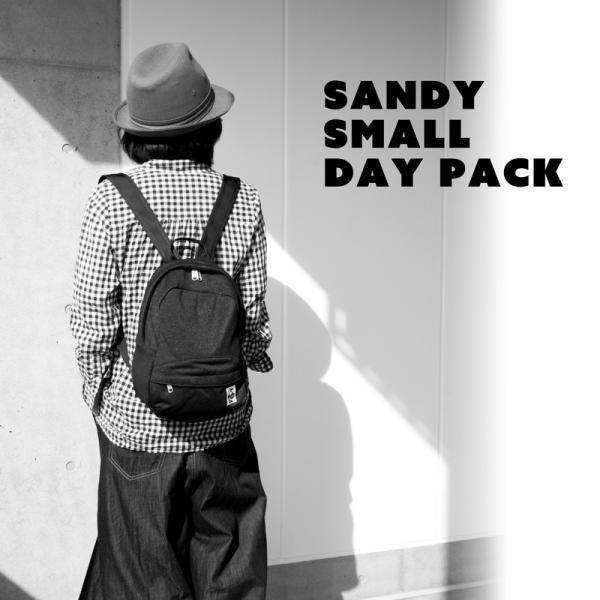 チャムス CHUMS デイパック Sandy Small Day Pack サンディー スモール デイパック|2m50cm|03