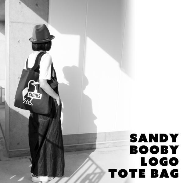 チャムス CHUMS トート Sandy Booby Logo Tote Bag サンディー ブービー ロゴ トートバッグ|2m50cm|08