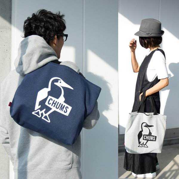 チャムス CHUMS トート Sandy Booby Logo Tote Bag サンディー ブービー ロゴ トートバッグ|2m50cm|10