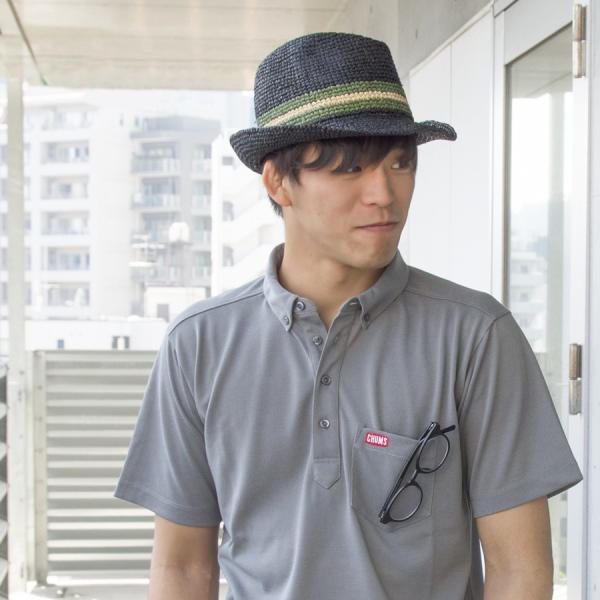 チャムス CHUMS Raffia Hat ラフィアハット|2m50cm|02