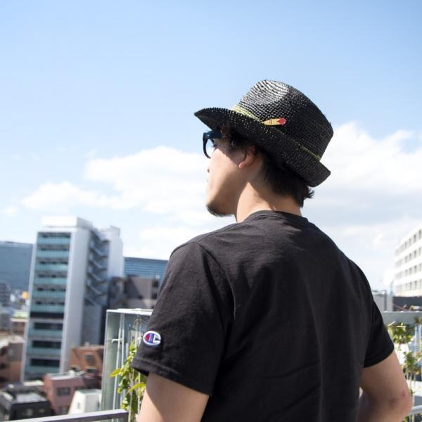 チャムス CHUMS Raffia Hat ラフィアハット|2m50cm|11