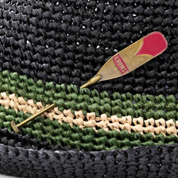 チャムス CHUMS Raffia Hat ラフィアハット|2m50cm|08