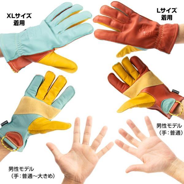 チャムス CHUMS Grip Swany×CHUMS Glove 焚き火グローブ|2m50cm|07