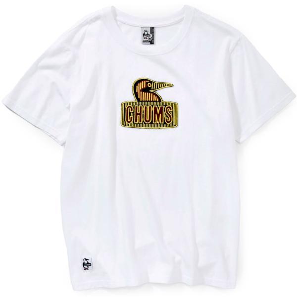 チャムス CHUMS Booby Embroidery T-Shirt ブービーエンブロイダリーTシャツ|2m50cm|09