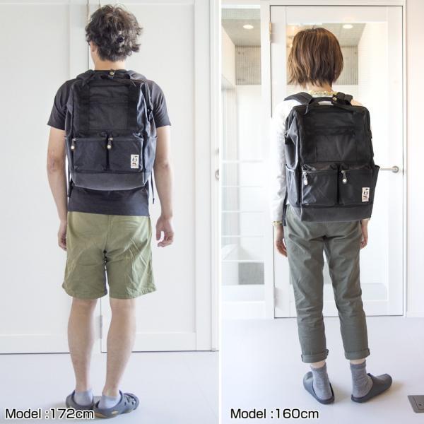 チャムス CHUMS ボーズマン ツールバックパック Bozeman Tool Backpack リュック|2m50cm|05