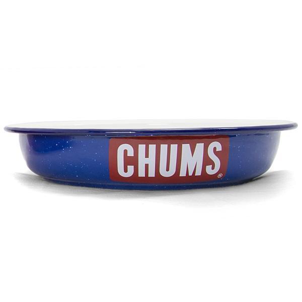 CHUMS チャムス ボートロゴ エナメル ディープ プレート|2m50cm|11