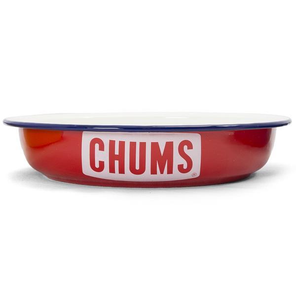 CHUMS チャムス ボートロゴ エナメル ディープ プレート|2m50cm|09