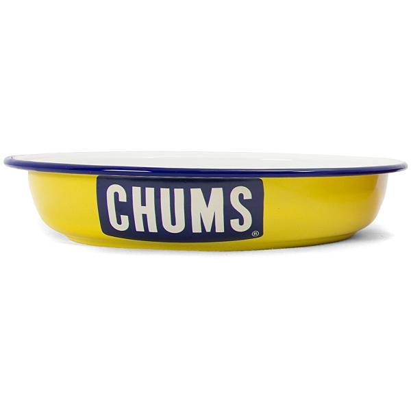 CHUMS チャムス ボートロゴ エナメル ディープ プレート|2m50cm|10