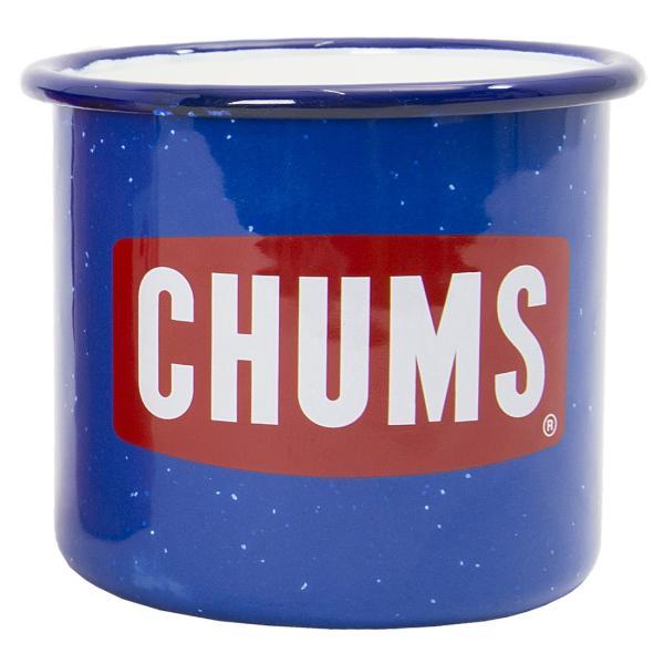 CHUMS チャムス ボートロゴ エナメル マグカップ|2m50cm|11