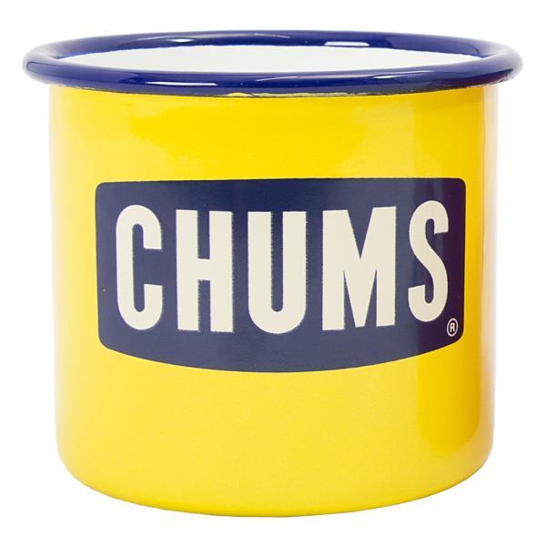 CHUMS チャムス ボートロゴ エナメル マグカップ|2m50cm|09