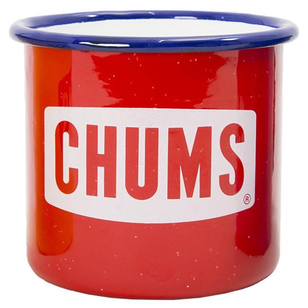 CHUMS チャムス ボートロゴ エナメル マグカップ|2m50cm|10