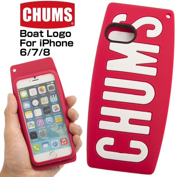 CHUMS チャムス iPhoneケース Boat Logo For iPhone 6/7/8|2m50cm