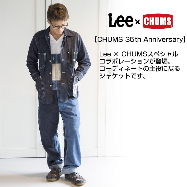 Lee × CHUMS ジャケット Play Loco Jacket|2m50cm|03