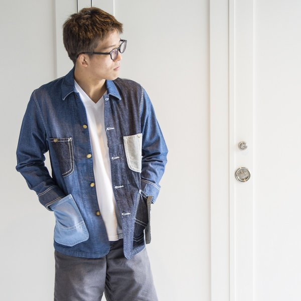 Lee × CHUMS ジャケット Play Loco Jacket|2m50cm|05