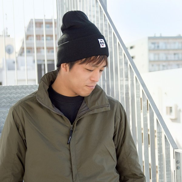 CHUMS チャムス ニット帽 KNIT CAP|2m50cm|04