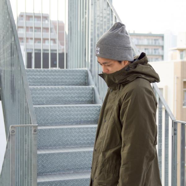 CHUMS チャムス ニット帽 KNIT CAP|2m50cm|05