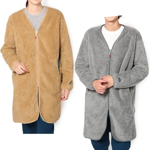 CHUMS チャムス コート Bonding Fleece Coat 2m50cm 11