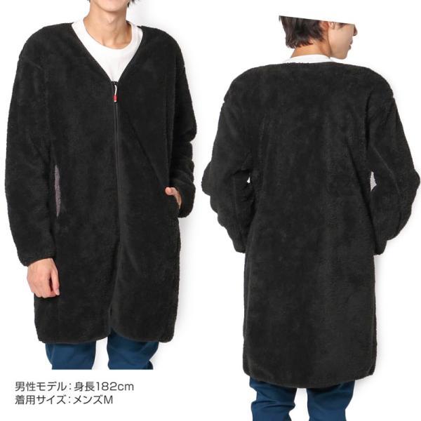 CHUMS チャムス コート Bonding Fleece Coat 2m50cm 12