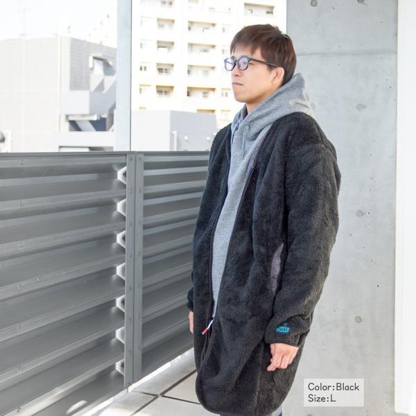 CHUMS チャムス コート Bonding Fleece Coat|2m50cm|04
