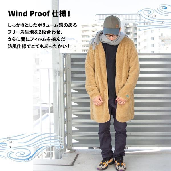 CHUMS チャムス コート Bonding Fleece Coat|2m50cm|05