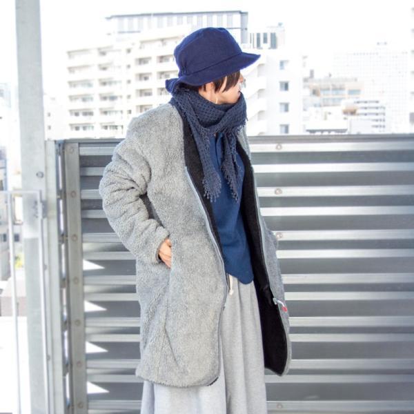 CHUMS チャムス コート Bonding Fleece Coat|2m50cm|06