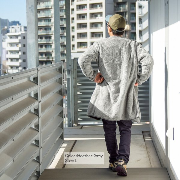 CHUMS チャムス コート Bonding Fleece Coat|2m50cm|07