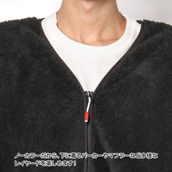 CHUMS チャムス コート Bonding Fleece Coat|2m50cm|10