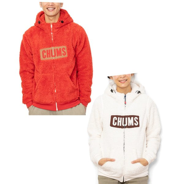 CHUMS チャムス パーカー Fleece Elmo Parka|2m50cm|03