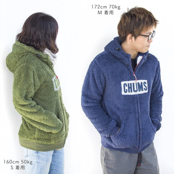 CHUMS チャムス パーカー Fleece Elmo Parka|2m50cm|09